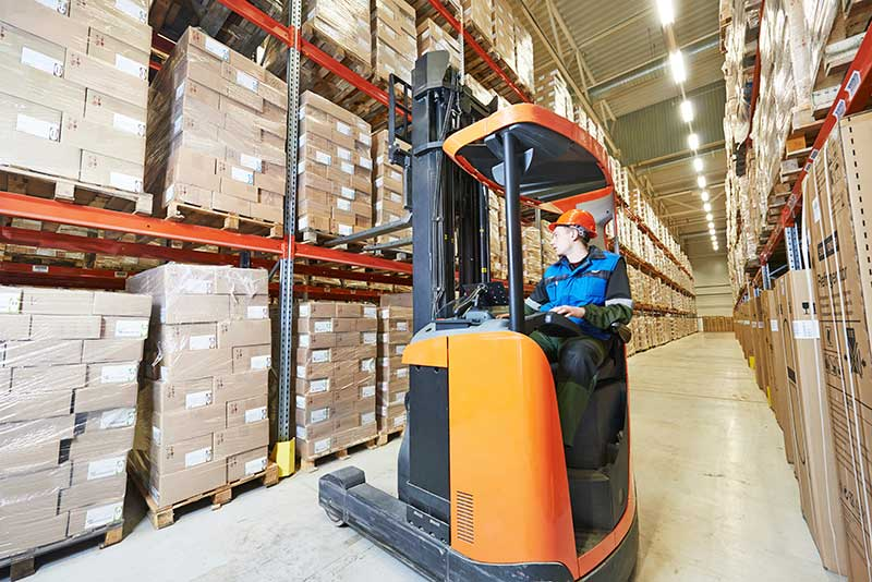 Narrow Aisle Forklift Certification Program
