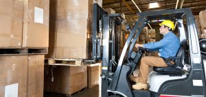 Counterbalanced Forklift on-site training